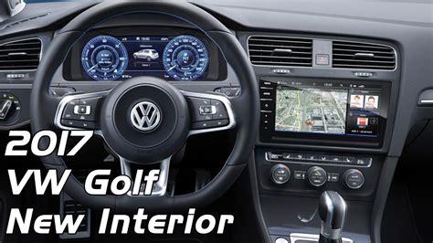 volkswagen golf 2017 interior 2017 volkswagen golf mk7 interior youtube