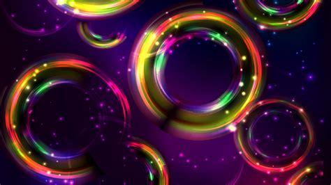 wallpaper colorful circles hd abstract