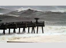 Jacksonville Beach Pier Pummeled by Hurricane Irma YouTube