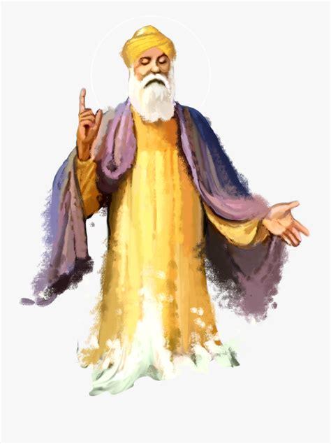 Guru - Guru Nanak Dev Ji Png , Free Transparent Clipart ...