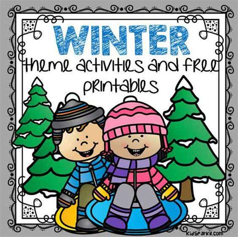 winter theme activities and printables for preschool and 860 | winter theme page 3 orig