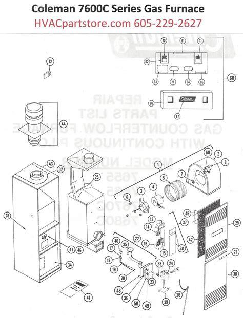 7680c856 coleman gas furnace parts hvacpartstore