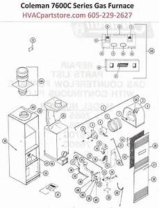 7680c856 Coleman Gas Furnace Parts  U2013 Hvacpartstore