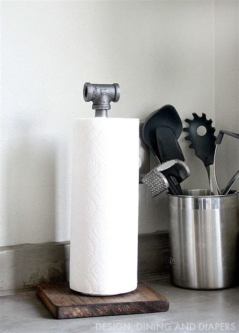 restaurant table top paper towel holder industrial paper towel holder tutorial the 36th avenue