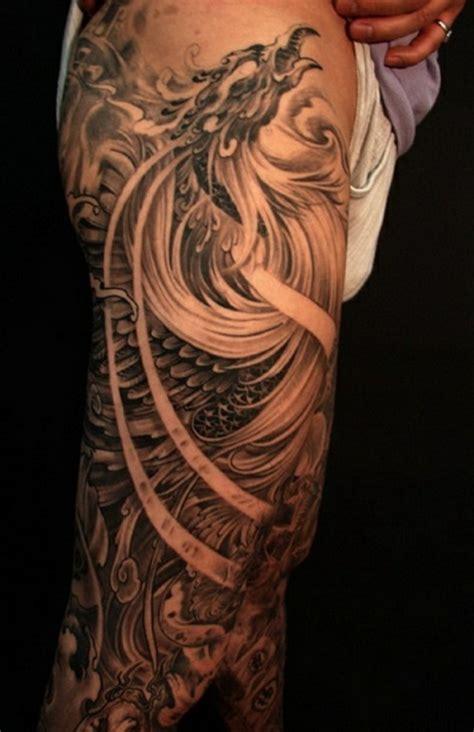 desain tato lengan atas contoh tampilan
