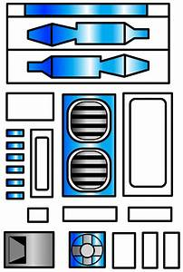 star wars r2 d2 template google search star wars With r2d2 printable template