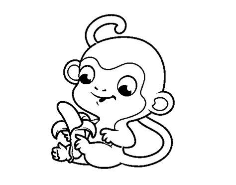 Dibujo De Un Plátano Imágenes Para Pintar Con Niños