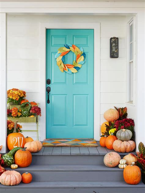 5 Tips For Fall Porch Decorating  Hgtv's Decorating