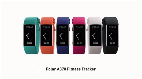 der neue fitness tracker polar a370