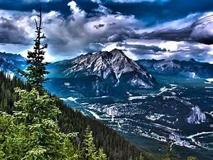 Wallpaper, Canada, Beautiful, Nature, Landscape, Mountains
