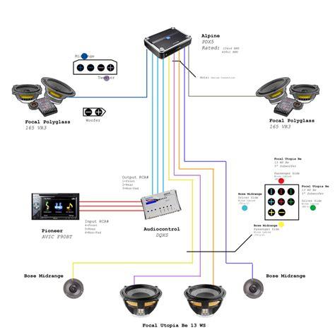 Focal Component Speaker Wiring Diagram Power Krx