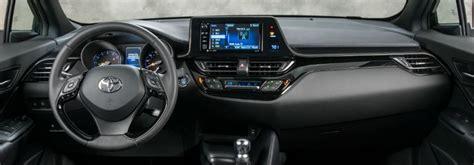 toyota  hr interior design features  technology