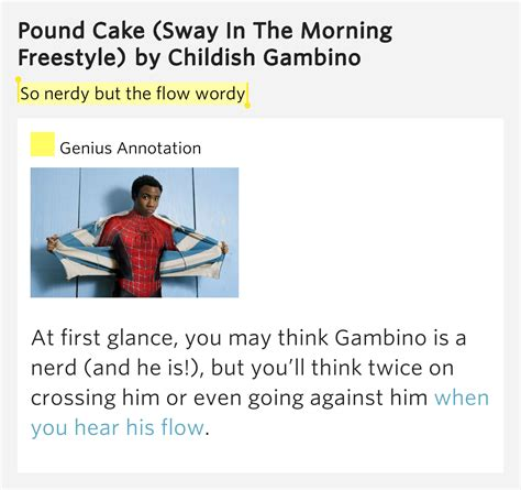 nerdy   flow wordy pound cake sway
