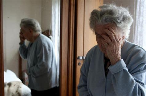 elderly  homes  suffering  depression