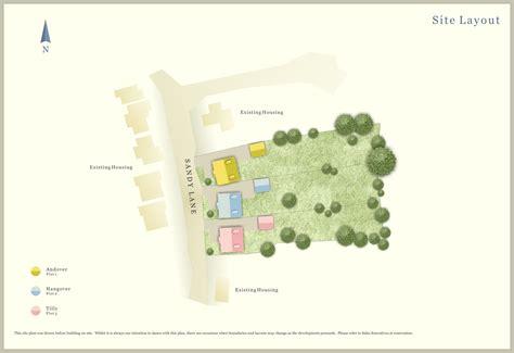 colour site plan ben williams home design