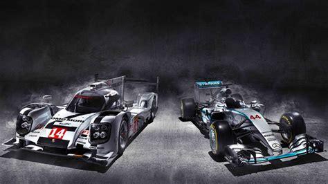 Porsche F1 2020 by Showdown Porsche S Wec Racer Vs Merc S W06 F1 Car Top Gear