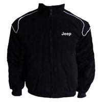 Race Car Jackets Jeep Racing Jacket Black With Piping