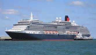sold for 35 million cunard s cruise ship makes maiden call on san francisco san