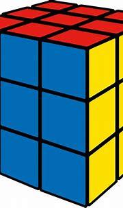 Rubik's cube blue vector icon   SVG(VECTOR):Public Domain ...