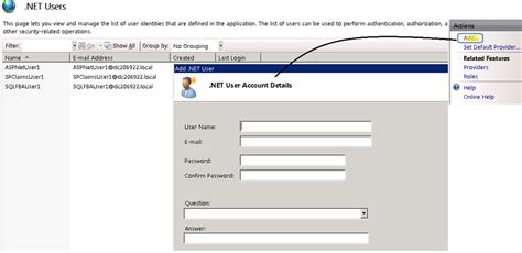 Forms Based Authentication Asp Net by Configuring Claims And Forms Based Authentication For Use