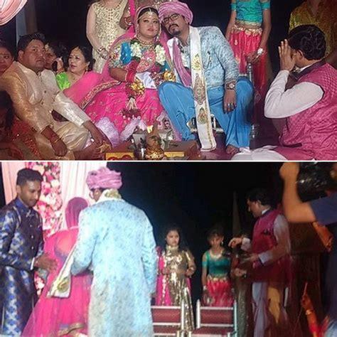 See wedding pics: Bharti Singh and Harsh Limbachiyaa get ...
