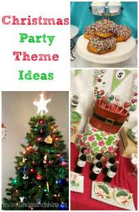 christmas party themes moms munchkins