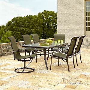 Garden Oasis Harrison 7 Piece Dining Set in Green