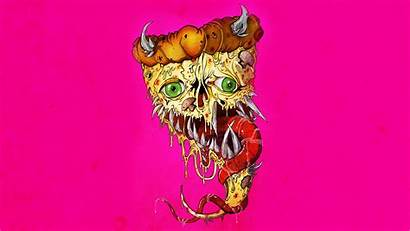 Demon Horns Pizza Px Fangs Tongues Industry