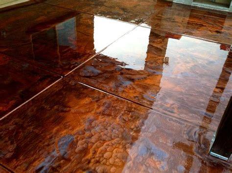 copper metallic epoxy flooring metallic epoxy floor