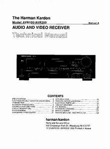Harman Kardon 230 Ballad Stereo Tube Pa Sch Service Manual