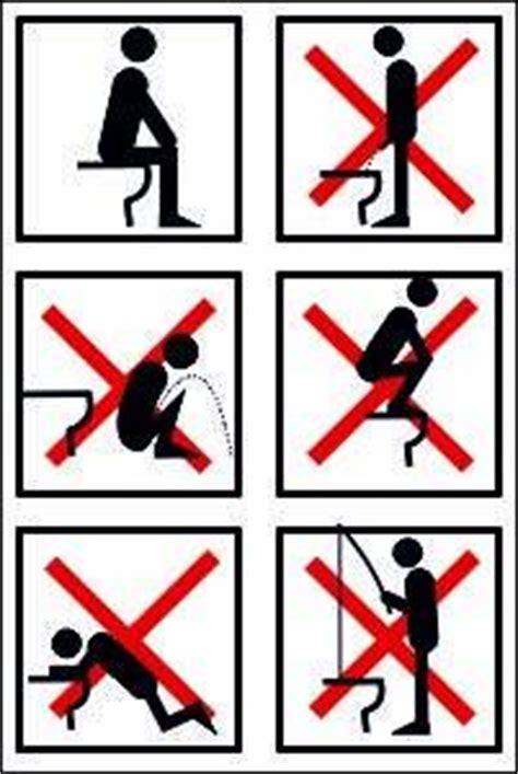 Wc  Toiletten Schild 119s Toilette Richtig Benutzen 29