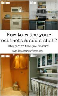 kitchen bulkhead ideas adding height to cabinets