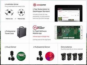DJI will use DataMapper for drone Remote Sensing analytics ...