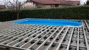 Eclairage Piscine Bois : eclairage terrasse bois piscine id es de ~ Edinachiropracticcenter.com Idées de Décoration