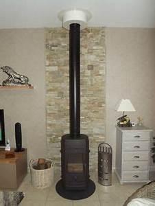 Protection Murale Anti Feu Poêle A Bois : briquette de parement derriere mon poele briquette de ~ Melissatoandfro.com Idées de Décoration