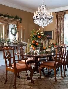 Antique, Dining, Room, Ideas, With, Full, Of, Earthy, Hues, Application