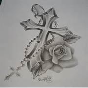 cross tattoo design on...