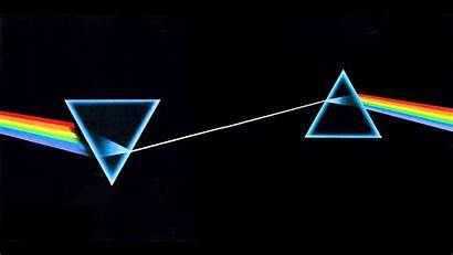 Album Moon Dark Side Pink Floyd Prism