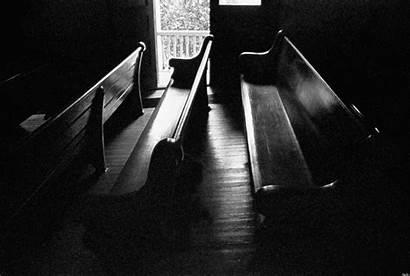 Pews Church Empty Religion Porch Elevated Door