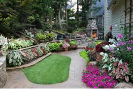 Traditional Home Garden Decor With Flower Raised Garden Beds Flow In This Back Yard Perfect Diy Ideas Raised