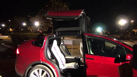 2016 Tesla Model S Configurations by 2016 Tesla Model X 6 Seat Configuration Showing Second