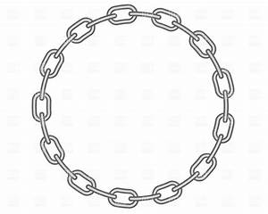 Round chain frame Royalty Free Vector Clip Art Image #662 ...