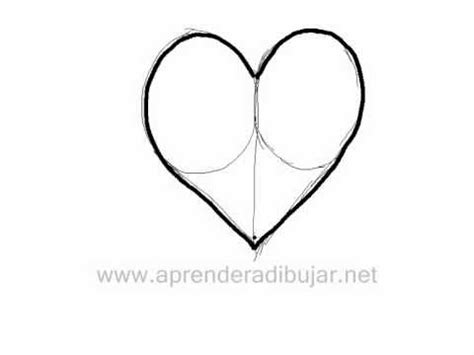 como dibujar  corazon dibujos de amor youtube