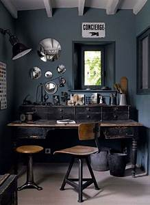 rustic masculine home decor | Boho Chic Home Office ...