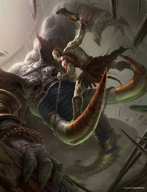 God Of War Ascension Concept Art By Izzy Medrano