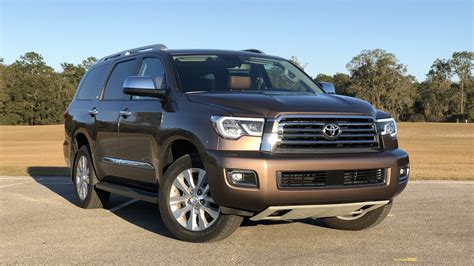 2018 Toyota Sequoia Driven Review Top Speed