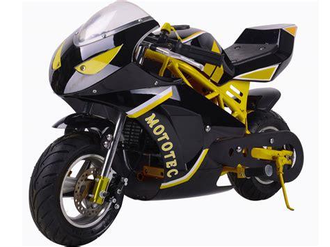 Mototec Cali Gas Pocket Bike 40cc 4-stroke Epa Approved