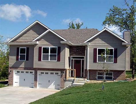 Attractive Split-level Home Plan