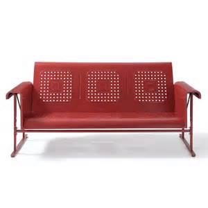 crosley furniture co1003a veranda sofa glider atg stores