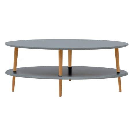 table basse ovale bois table basse ovale 2 plateaux grise bois ragaba ovo ragabaovo6l